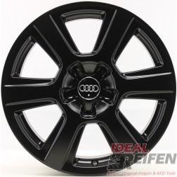 4 Original Audi Q5 8R 17 Zoll Alufelgen 8R0601025S 7x17 ET33 Schwarz seidenmatt
