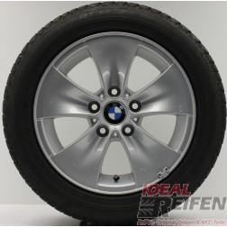 4 Original BMW 3er E90 E91 E92 6762791 Alufelgen 7x16 ET34 Winterräder A61