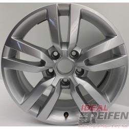 1 Original VW Tiguan 5N 5N0601025R Alufelge 6,5x16 ET33 POERTLAND EF2053