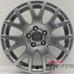 4 Audi TT 8S S-Line 17 Zoll Aluflegen 8J0601025G 7x17 ET47 Original Audi Felgen