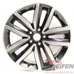 1 Original VW Jetta 5C 18 Zoll Alufelge 5C0601025L 7,5x18 ET51 Felge EF6340
