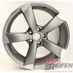 Original Audi A4 S4 8K B8 8,5x19 ET43 Alufelge 8K0601025CN 8K0601025AR Rotor /2