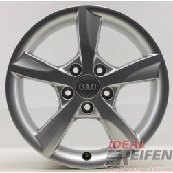1 Original Audi A3 8V 16 Zoll Alufelge 6x16 ET48 8V0071496 EF5612