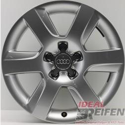 1 Original Audi A8 4H D4 17 Zoll Alufelge 4H0601025A 7,5x17 ET26 Felge EF5501