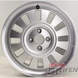 Original VW UP! CLASSIC Alufelge Silber poliert 6x16 ET43 1S0601025B WIE NEU