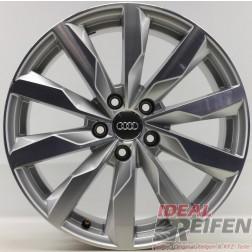 1 Original Audi A4 8W B9 18 Zoll Sline Alufelge 8W0601025S 8x18 ET40 Felge
