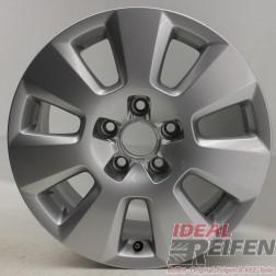 1 Original Audi A6 4G C7 16 Zoll 4G0601025 Alufelge Silber 7,5x16 ET37 EF5749