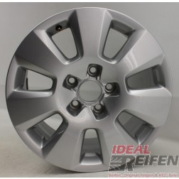 1 Original Audi A6 4G C7 16 Zoll 4G0601025 Alufelge Silber 7,5x16 ET37 EF5750
