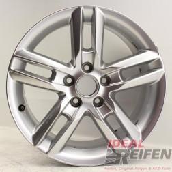 Original Audi A3 S3 8P 17 Zoll Alufelge 7,5x17 ET56 8P0601025BQ Felge EF6617