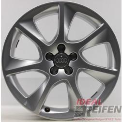 4 Original Audi A1 S1 8X 17 Zoll Alufelgen 8X0601025J 7,5x17ET36 Silber glänzend