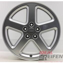 1 Original Audi A8 4E D3 18 Zoll Sline Alufelge 4E0601025L 8x18 ET43 EF5841