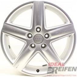 4 Original Audi A4 8E B7 8E0601025E S-Line 17 Zoll Alufelgen 7,5x17 ET45 32621