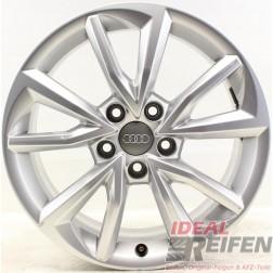 4 Original Audi TT TTS 8S 17 Zoll Alufelgen 8S0071497 7x17 ET47 Felgen 32641