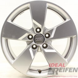 4 Original Audi TT TTS 8S 17 Zoll Alufelgen 8S0601025 8x17 ET47 32642