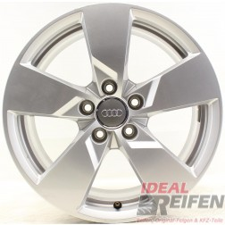 4 Original Audi TT TTS 8S 17 Zoll Alufelgen 8S0601025 8x17 ET47 32643