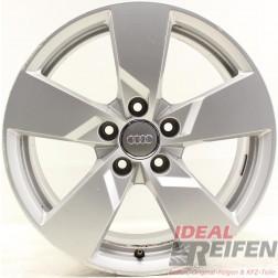 4 Original Audi TT TTS 8S 17 Zoll Alufelgen 8S0601025 8x17 ET47 32644