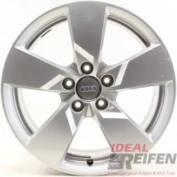 4 Original Audi TT TTS 8S 17 Zoll Alufelgen 8S0601025 8x17 ET47 32645