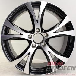 Carmani 9 Compete Felge 8x18 ET45 5x112 KBA 49247 Black polish NEU