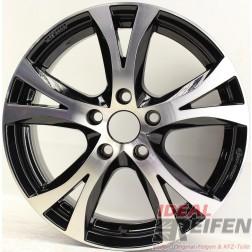 Carmani 9 Compete Felge 6,5x16 ET45 5x108 KBA 49007 Black polish gebr.
