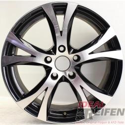 Carmani 9 Compete Felge 7,5x17 ET38 5x114,3 KBA 49009 Black polish gebr. /3