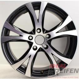 Carmani 9 Compete Felge 7,5x17 ET38 5x114,3 KBA 49009 Black polish gebr. /4