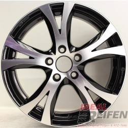 Carmani 9 Compete Felge 6,5x16 ET39 5x105 KBA 49007 Black polish gebr.