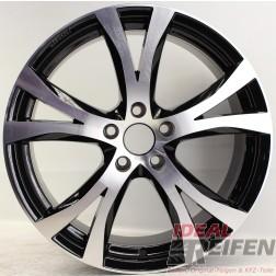Carmani 9 Compete Felge 8x18 ET45 5x108 KBA 49247 Black polish gebr.