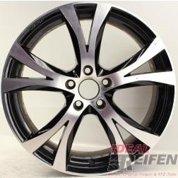 Carmani 9 Compete Felge 8x18 ET45 5x108 KBA 49247 Black polish gebr./1