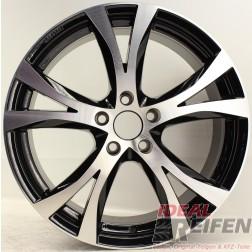 Carmani 9 Compete Felge 8x18 ET45 5x108 KBA 49247 Black polish gebr./2