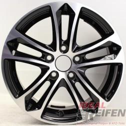 Carmani 5 Arrow Felge 7x16 ET38 5x110 KBA 47980 anthrazit black polish NEU /2