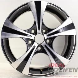 Carmani 11 Rush Alufelge 6,5x16 ET38 5x114,3 KBA 50082 Black polish gebr.