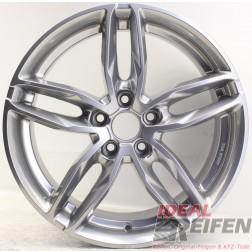 Carmani 13 Twinmax Alufelge  8x18 ET47 5x112 KBA 50559 Bright Silver gebr./10