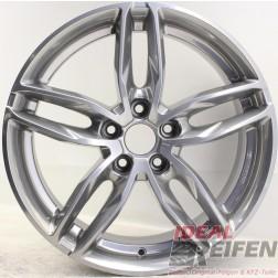 Carmani 13 Twinmax Alufelge  8x18 ET35 5x112 KBA 50559 Bright Silber gebr.