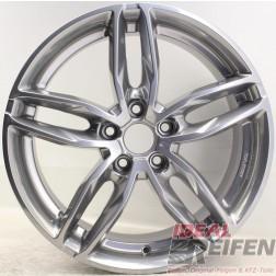 Carmani 13 Twinmax Alufelge  8x18 ET47 5x112 KBA 50559 Bright Silver gebr./5