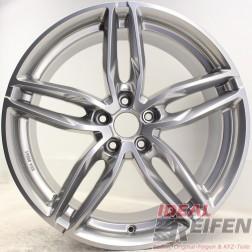 Carmani 13 Twinmax Alufelge 9x20 ET45 5x114,3 KBA 50561 Bright Silver NEU /3