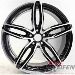 Carmani 13 Twinmax Alufelge 9x20 ET35 5x114,3 KBA 50561 black polish NEU