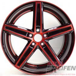 Oxigin 18 Concave Alufelge 8,5x18 ET45 5x108 KBA49242 Red Polish NEU