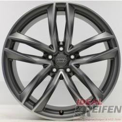 4 Original Audi RS6 C7 4G 21 Zoll Alufelgen 4G0601025 BICOLOR 9,5x21 ET25 NEU