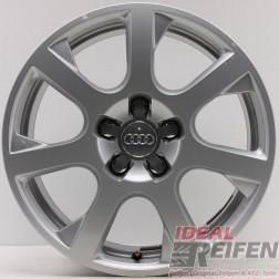 4 Original Audi Q5 8R 17 Zoll Alufelgen 8R0601025G 8x17 ET39 Felgen 30486