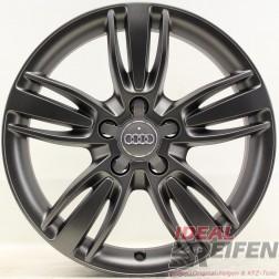 4 Original Audi Q3 8U 17 Zoll Alufelgen 8U0601025P 7x17 ET43 Felgen titan matt