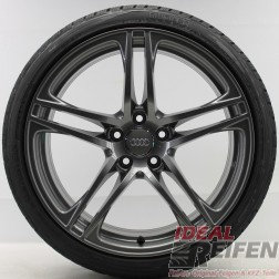 4 Original Audi R8 V8 8,5x19 + 10,5x19 235/35 295/30 Wintersatz Winterräder TG