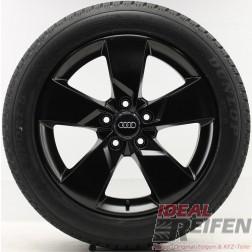 Original Audi TT TTS 8S Winterräder 8S0601025J 7x17 ET47 Schwarz seidenmatt