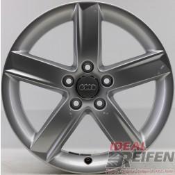 4 Original Audi A4 8K B8 17 Zoll Alufelgen 8K0071497 7x17 ET46 17 Zoll S-Line