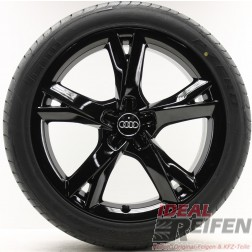 4 Original Audi A7 4G8 4GA black Sommerräder 4G8601025C 8,5x19ET32 Reifen neu