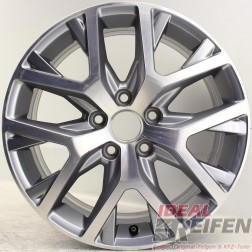"Original VW Touran 1T Cross 17"" CANYON Alufelge 1T0601025AD 6,5x17ET42 EF7509"