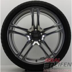 4 Original Audi R8 V8 V10 GT Spyder Winterräder Dunlop R01 8,5x19+10,5x19 IR161
