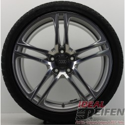 4 Original Audi R8 V8 V10 GT Spyder Winterräder Dunlop R01 8,5x19+10,5x19 IR989