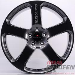 23 Zoll Porsche Cayenne 23 Zoll Mansory Alufelgen 11x23 ET50 Hyper Dark NEU