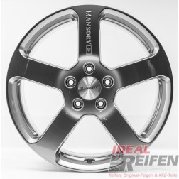 23 Zoll VW Touareg 7P 7L V10 W12 Mansory Alufelgen 11x23 ET50 Black Chrom NEU