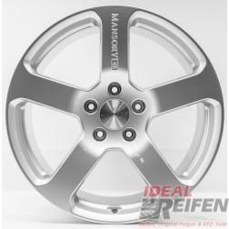 23 Zoll Porsche Cayenne 23 Zoll Mansory Alufelgen 11x23 ET50 Black Silber NEU